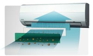 Toshiba IAQ air conditioning filter